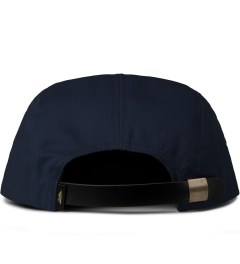 Benny Gold Navy Ikat Arrowhead 5-Panel Strapback Cap  Model Picutre