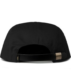 Benny Gold Black Ikat Arrowhead 5-Panel Strapback Cap  Model Picutre