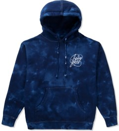 Benny Gold Navy Galaxy Tie-dye Pullover Hoodie Picutre