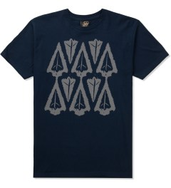 Benny Gold Navy Ikat Arrow Head T-Shirt  Picutre