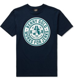 Benny Gold Navy Cheers T-Shirt  Picutre