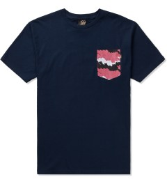 Benny Gold Navy Fog Camo Pocket T-Shirt  Picutre