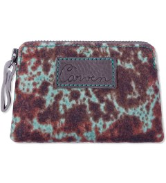 Carven First Green Wool Printed Notebook Purse Picutre