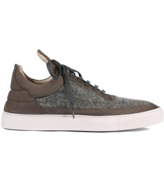 Filling Pieces Wool Grey Lowtop Shoe Picutre