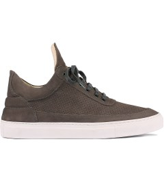 Filling Pieces Perforated Grey Lowtop Shoe Picutre