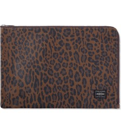 Head Porter Leopard Regal Document Case  Model Picutre
