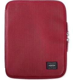 Head Porter Red Merge iPad Case  Model Picutre