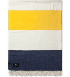 Hudson's Bay Company Multistripe Avenue Merino Throw Model Picutre