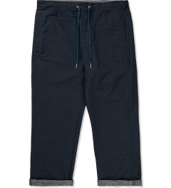 Liful Navy Flex Slav Crop Pant Picutre