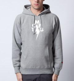 Mark McNairy for Heather Grey Wall Grey TCMFB Hoodie  Model Picutre