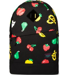 Mishka Black Munchies Knapsack Backpack  Picutre