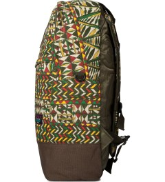 Mishka Olive King Jaffe Knapsack Backpack  Model Picutre