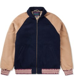 Mishka Blue Empire Varsity Jacket Picutre