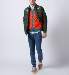 Mishka Military Green Honor Scout Jacket Model Picutre