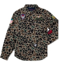 Mishka Camo Patterson Button-Up Shirt Picutre