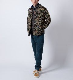 Mishka Camo Patterson Button-Up Shirt Model Picutre