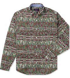 Mishka Earth King Jaffe Button-Up Poplin Shirt  Picutre