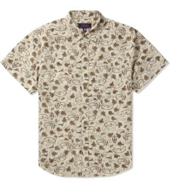 Mishka Wheat Animal Parade Button-Up Shirt Picutre