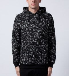 Mishka Black Animal Parade Pullover Hoodie Model Picutre