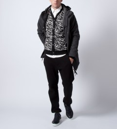 Mishka White Rumble Cardigan  Model Picutre