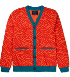 Mishka Orange Rumble Cardigan  Picutre