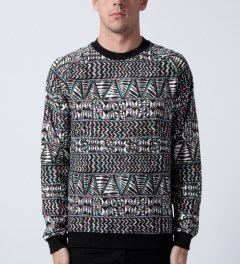 Mishka Black King Jaffe Crewneck  Model Picutre