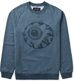 Mishka Heather Marine Vintage Keep Watch Crewneck  Picutre