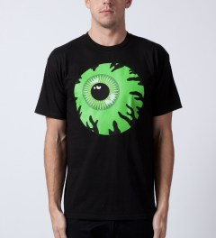 Mishka Black Keep Watch T-Shirt Model Picutre