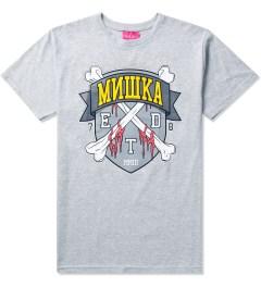 Mishka Grey 10 Year ETD Crest T-Shirt Picutre