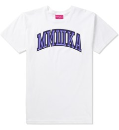 Mishka White Cyrillic Varsity II T-Shirt  Picutre