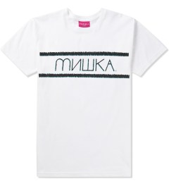 Mishka White Distressed Heatseeker T-Shirt Picutre