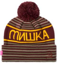 Mishka Maroon Heatseeker Knit Pom Beanie  Picutre