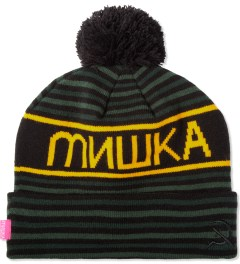 Mishka Green Heatseeker Knit Pom Beanie  Picutre