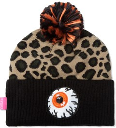 Mishka Olive Safari Keep Watch Knit Pom Beanie  Picutre