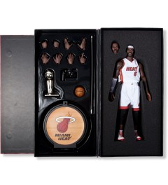 ENTERBAY Real Masterpiece: NBA Collection - LeBron James  Model Picutre