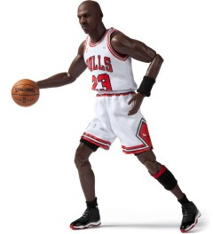 ENTERBAY Real Masterpiece: NBA Collection - Michael Jordan Series 1 #23 Home Edition  Picutre