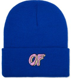 Odd Future Blue OF Donut Beanie Picutre