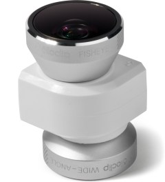olloclip Silver Lens/White Clip olloclip iPhone 5/5s: 4 in 1 Lens: Fisheye, Wide-Angle, 2 Macros Picutre