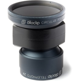 olloclip Black ollioclip for iPhone 5: Telephoto Lens + Circular Polarizer Color Model Picutre