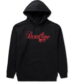 SSUR SSUR x Deadline Black Script Logo Hoodie Picutre
