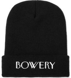 SSUR Black Bowery Beanie  Picutre