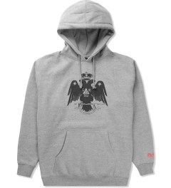 SSUR Heather Grey Deus Hoodie Picutre