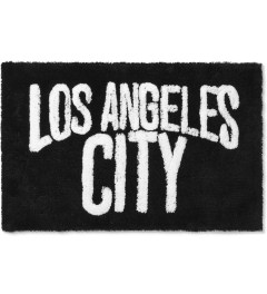 SECOND LAB Black Los Angeles City Rug Picutre