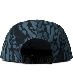 Staple Navy Cypress 5-Panel Cap Model Picutre