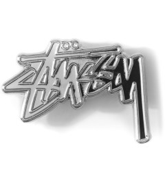 Stussy Silver Stock Pin Picutre