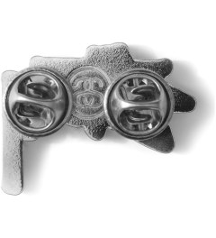 Stussy Silver Stock Pin Model Picutre