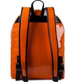 Tourne de Transmission Orange/White Ironore Rucksack Backpack Model Picutre