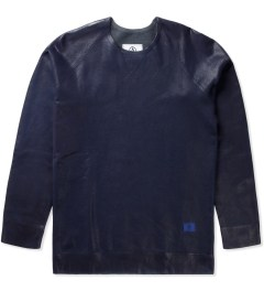 U.S. Alteration Navy Spray Sweater  Picutre