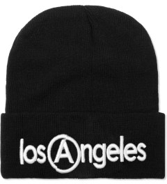 U.S. Alteration Black Los Angeles Embroidery Beanie  Picutre