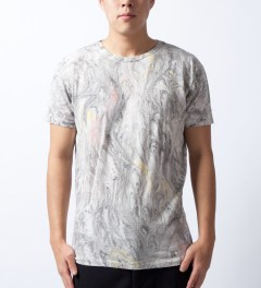 U.S. Alteration Multi Marble T-Shirt  Model Picutre